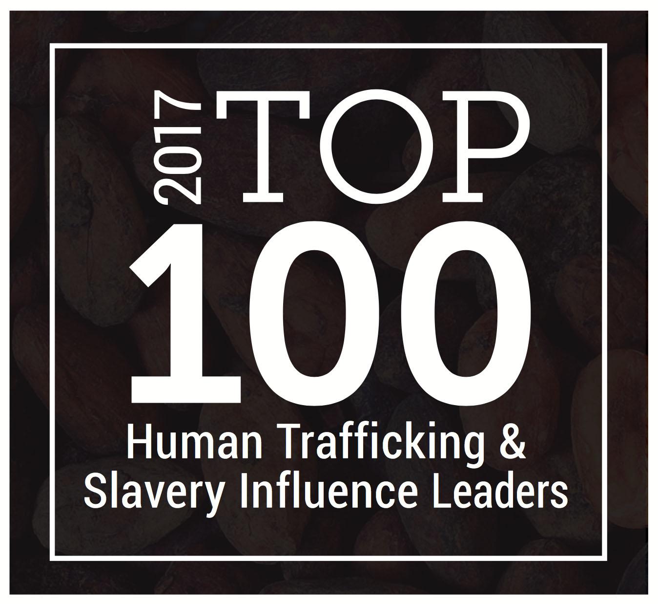 Top 100 Influence Leaders #drjohnaking #humantrafficking #dealwithit